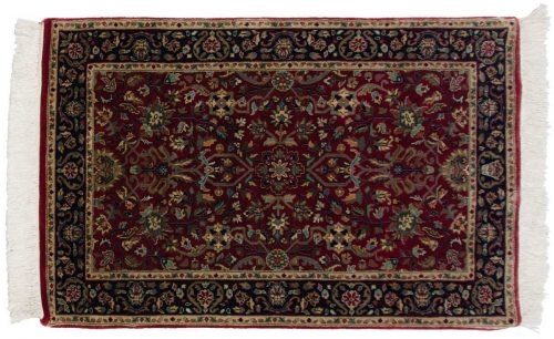 2×4 Tabriz Red Oriental Rug 038652