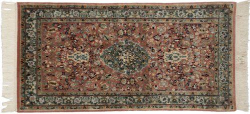 2×4 Tabriz Rust Oriental Rug 039085