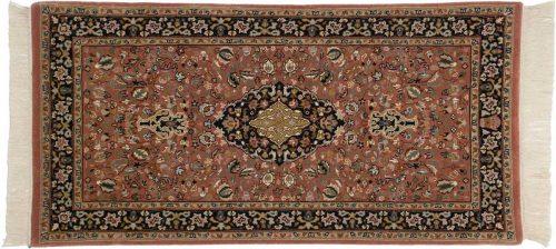 2×4 Tabriz Rust Oriental Rug 039086