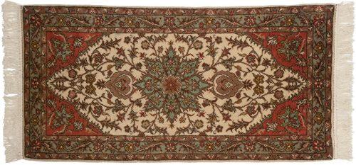 2×5 Persian Ivory Oriental Rug 012408