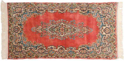 2×5 Persian Kerman Rose Oriental Rug 017328