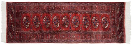 2×6 Bokhara Red Oriental Rug 021554