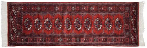 2×6 Bokhara Red Oriental Rug 022028