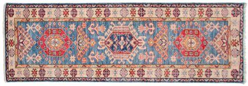 2×6 Kazak Blue Oriental Rug Runner 047782