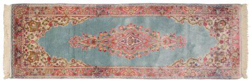 2×6 Persian Kerman Blue Oriental Rug Runner 017510