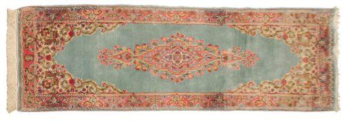 2×6 Persian Kerman Blue Oriental Rug Runner 017511