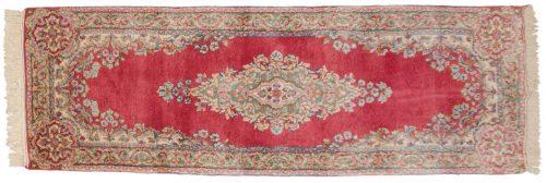2×6 Persian Kerman Rose Oriental Rug Runner 017508