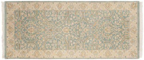 2×6 Tabriz Blue Oriental Rug Runner 046040
