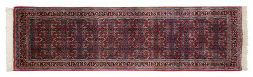 2×7 Bijar Red Oriental Rug Runner 035916