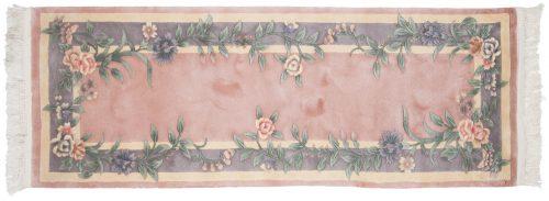 2×7 Floral Rose Oriental Rug Runner 028707