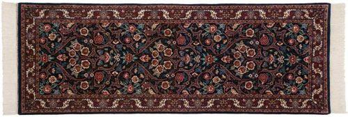 2×7 Kashan Blue Oriental Rug Runner 031642