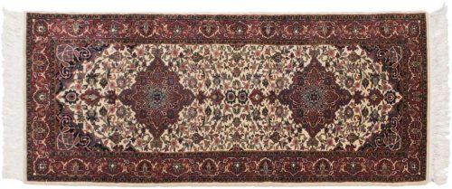 2×7 Kashan Ivory Oriental Rug Runner 045958