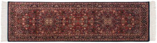 2×7 Kashan Red Oriental Rug Runner 045961