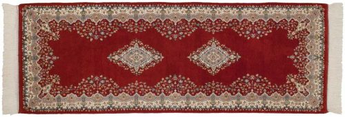 2×7 Kerman Red Oriental Rug Runner 015312