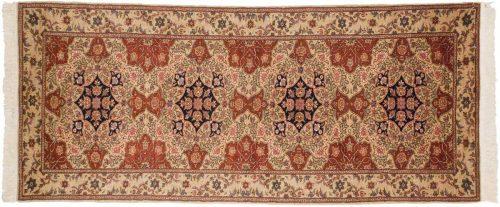2×7 Persian Beige Oriental Rug Runner 021658