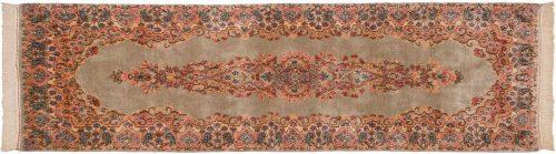 2×7 Persian Kerman Silver Oriental Rug Runner 017359
