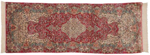 2×8 Persian Kerman Rose Oriental Rug Runner 017540
