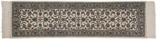 2×9 Isfahan Ivory Oriental Rug Runner 025260
