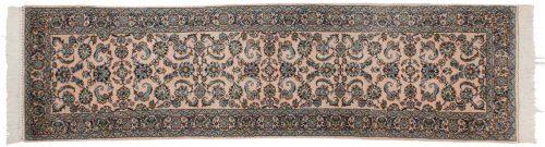 2×9 Isfahan Rose Oriental Rug Runner 025206
