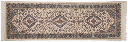 2×9 Kashan Ivory Oriental Rug Runner 024239