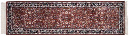 2×9 Kashan Rust Oriental Rug Runner 033783