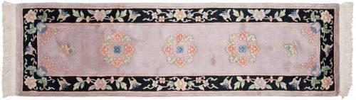 2×9 Peking Beige Oriental Rug Runner 018573