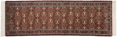 2×9 Tabriz Rust Oriental Rug Runner 033629