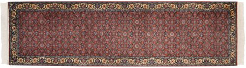3×10 Bulgarian Rust Oriental Rug Runner 017218