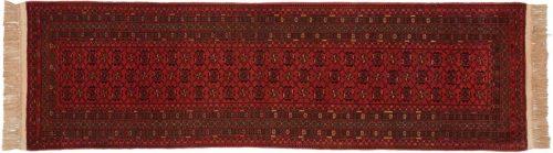 3×10 Daulatabad Red Oriental Rug Runner 029813