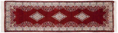 3×10 Kerman Red Oriental Rug Runner 016714