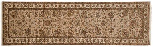 3×10 Mahal Beige Oriental Rug Runner 042598