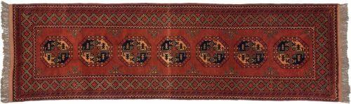 3×10 Taghan Rust Oriental Rug Runner 025780