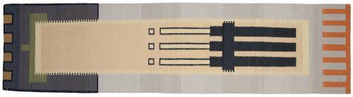 3×11 Nicholls Multi Color Oriental Rug Runner 024718