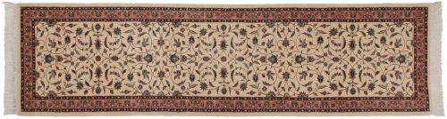 3×11 Persian Ivory Oriental Rug Runner 030308