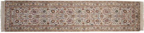 3×11 Tabriz Ivory Oriental Rug Runner 015212