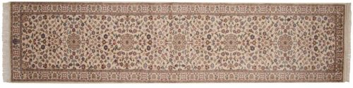 3×11 Tabriz Ivory Oriental Rug Runner 016133