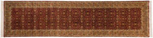 3×12 Agra Burgundy Oriental Rug Runner 039229