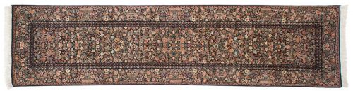3×12 Aubusson Blue Oriental Rug Runner 026151