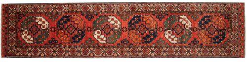 3×12 Ersari Rust Oriental Rug Runner 048860