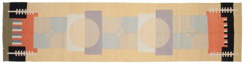 3×12 Nicholls Multi Color Oriental Rug Runner 012841