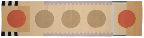 3×12 Nicholls Multi Color Oriental Rug Runner 012852