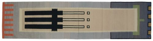 3×12 Nicholls Multi Color Oriental Rug Runner 024592