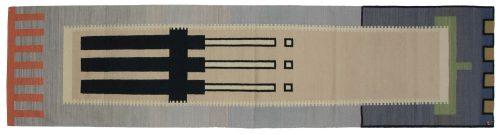 3×12 Nicholls Multi Color Oriental Rug Runner 024592
