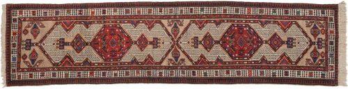 3×12 Persian Serab Ivory Oriental Rug Runner 020209