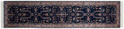 3×12 Sarouk Blue Oriental Rug Runner 030572