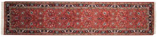 3×12 Tabriz Red Oriental Rug Runner 015364