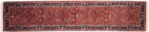 3×12 Tabriz Red Oriental Rug Runner 015515