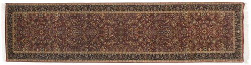3×12 Tabriz Red Oriental Rug Runner 039461