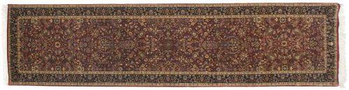3×12 Tabriz Red Oriental Rug Runner 039461