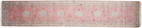 3×14 Kerman Rose Oriental Rug Runner 015919